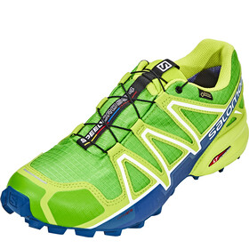 Salomon Speedcross 4 GTX Shoes Men Classic Green/Lime Green/Poseidon